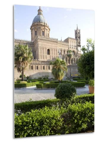 Cathedral Gardens, Palermo, Sicily, Italy, Europe-Olivieri Oliviero-Metal Print