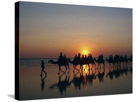 Cable Beach, Broome, Kimberley, Western Australia, Australia, Pacific-Pitamitz Sergio-Stretched Canvas Print