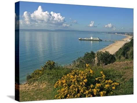 Bournemouth Pier, Poole Bay, Dorset, England, United Kingdom, Europe-Rainford Roy-Stretched Canvas Print