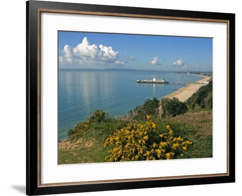 Bournemouth Pier, Poole Bay, Dorset, England, United Kingdom, Europe-Rainford Roy-Framed Art Print