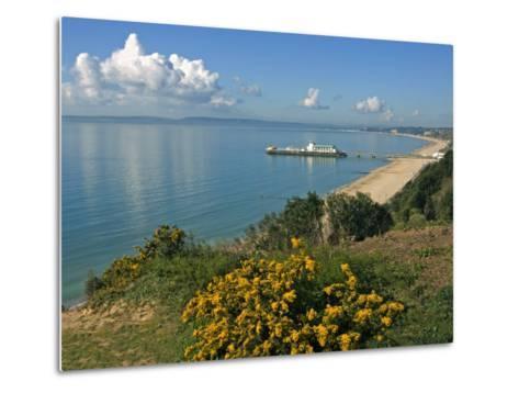 Bournemouth Pier, Poole Bay, Dorset, England, United Kingdom, Europe-Rainford Roy-Metal Print