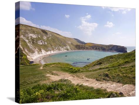 Lulworth Cove, Dorset, England, United Kingdom, Europe-Rainford Roy-Stretched Canvas Print