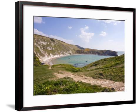 Lulworth Cove, Dorset, England, United Kingdom, Europe-Rainford Roy-Framed Art Print