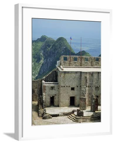 Citadelle Fort, Built in 1817, the Walls are Four Metres Thick, Milot, Haiti, West Indies-Murray Louise-Framed Art Print