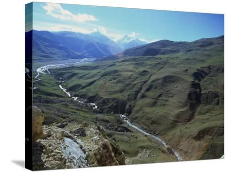 Caucus Mountains, Azerbaijan, Central Asia-Olivieri Oliviero-Stretched Canvas Print