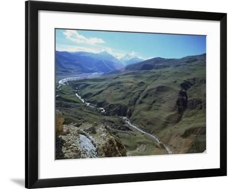 Caucus Mountains, Azerbaijan, Central Asia-Olivieri Oliviero-Framed Art Print