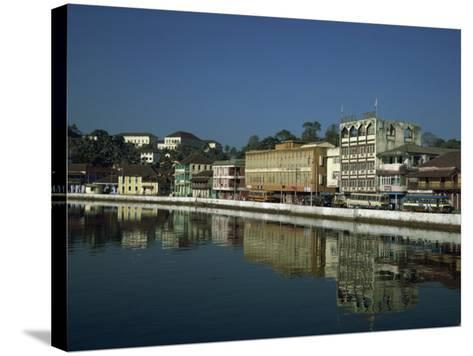 Panjim, Taken in 1980, Goa, India-Pate Jenny-Stretched Canvas Print