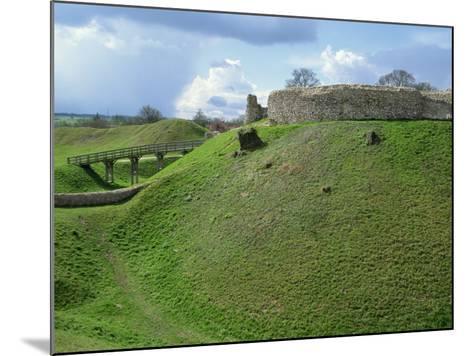 Castle at Castle Acre, Norfolk, England, United Kingdom, Europe-Pate Jenny-Mounted Photographic Print