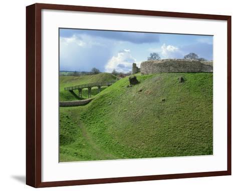Castle at Castle Acre, Norfolk, England, United Kingdom, Europe-Pate Jenny-Framed Art Print