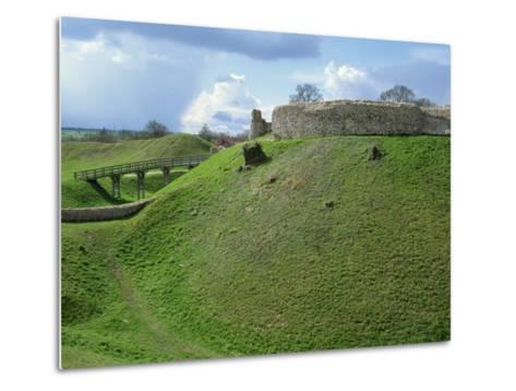 Castle at Castle Acre, Norfolk, England, United Kingdom, Europe-Pate Jenny-Metal Print