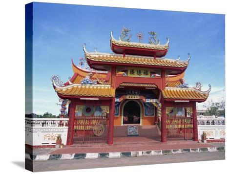 Chinese Temple in Kota Kinabalu, Sabah, Borneo, Malaysia, Southeast Asia-Murray Louise-Stretched Canvas Print