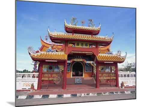 Chinese Temple in Kota Kinabalu, Sabah, Borneo, Malaysia, Southeast Asia-Murray Louise-Mounted Photographic Print