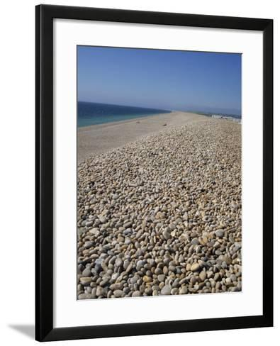 Chesil Bank, Dorset, England, United Kingdom, Europe-Pate Jenny-Framed Art Print