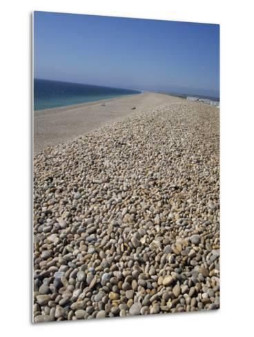 Chesil Bank, Dorset, England, United Kingdom, Europe-Pate Jenny-Metal Print
