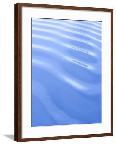 Waves Structure, Spitzbergen, Svalbard, Norway, Scandinavia, Europe-Milse Thorsten-Framed Art Print
