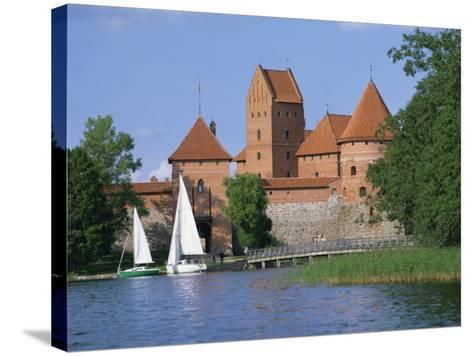 Trakai Castle in Lithuania, Baltic States, Europe-Richardson Rolf-Stretched Canvas Print