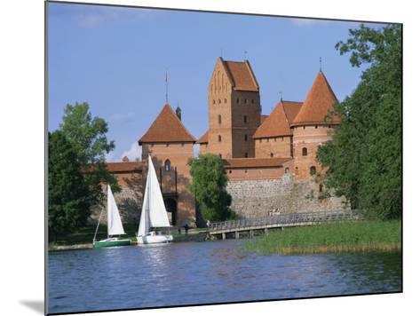 Trakai Castle in Lithuania, Baltic States, Europe-Richardson Rolf-Mounted Photographic Print