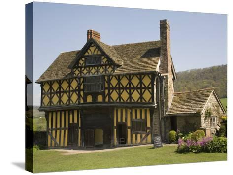 Gateway to Stokesay Castle, Shropshire, England, United Kingdom, Europe-Richardson Rolf-Stretched Canvas Print