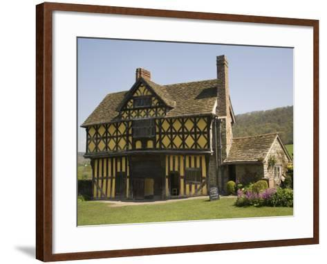 Gateway to Stokesay Castle, Shropshire, England, United Kingdom, Europe-Richardson Rolf-Framed Art Print