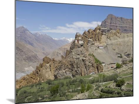 Dhankar Monastery, Spiti, Himachal Pradesh, India-Simanor Eitan-Mounted Photographic Print