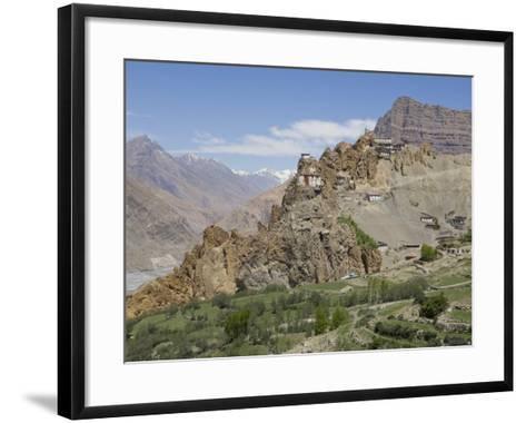 Dhankar Monastery, Spiti, Himachal Pradesh, India-Simanor Eitan-Framed Art Print