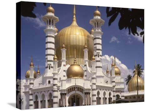 Ubadiah Mosque, Kuala Kangsar, Perak, Malaysia, Southeast Asia-Richardson Rolf-Stretched Canvas Print