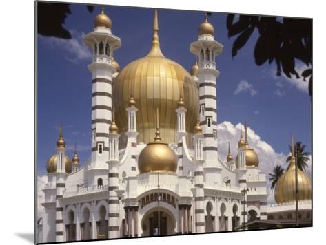Ubadiah Mosque, Kuala Kangsar, Perak, Malaysia, Southeast Asia-Richardson Rolf-Mounted Photographic Print