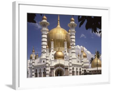 Ubadiah Mosque, Kuala Kangsar, Perak, Malaysia, Southeast Asia-Richardson Rolf-Framed Art Print