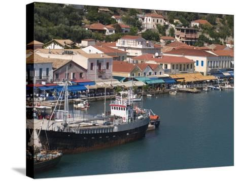 Katakolon Harbour, Peloponnese, Greece, Europe-Richardson Rolf-Stretched Canvas Print