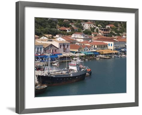 Katakolon Harbour, Peloponnese, Greece, Europe-Richardson Rolf-Framed Art Print