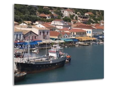 Katakolon Harbour, Peloponnese, Greece, Europe-Richardson Rolf-Metal Print