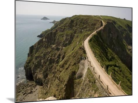 La Coupee, Sark, Channel Islands, United Kingdom, Europe-Richardson Rolf-Mounted Photographic Print