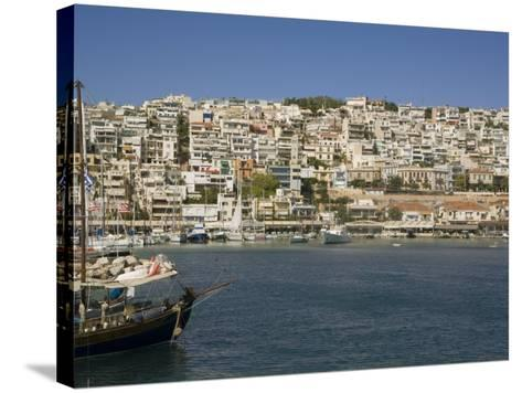 Mikrolimano, Piraeus, Athens, Greece, Europe-Richardson Rolf-Stretched Canvas Print