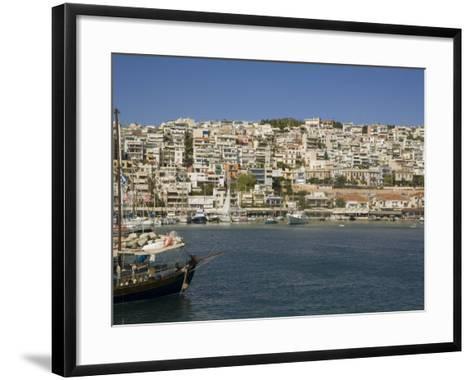 Mikrolimano, Piraeus, Athens, Greece, Europe-Richardson Rolf-Framed Art Print
