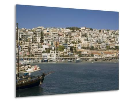 Mikrolimano, Piraeus, Athens, Greece, Europe-Richardson Rolf-Metal Print