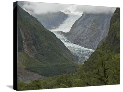 Fox Glacier, Westland, South Island, New Zealand, Pacific-Schlenker Jochen-Stretched Canvas Print