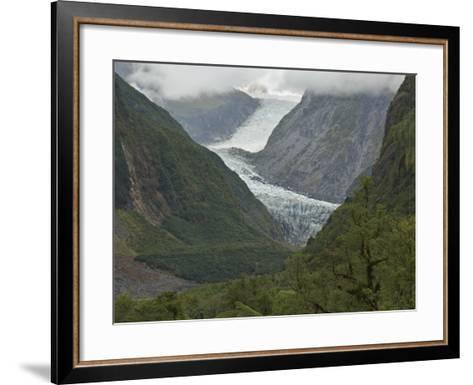 Fox Glacier, Westland, South Island, New Zealand, Pacific-Schlenker Jochen-Framed Art Print