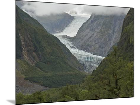 Fox Glacier, Westland, South Island, New Zealand, Pacific-Schlenker Jochen-Mounted Photographic Print
