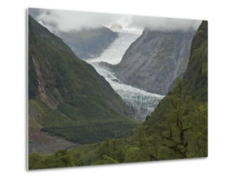 Fox Glacier, Westland, South Island, New Zealand, Pacific-Schlenker Jochen-Metal Print