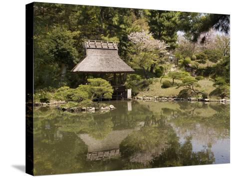 Shukkeien Garden, Hiroshima, Japan-Richardson Rolf-Stretched Canvas Print