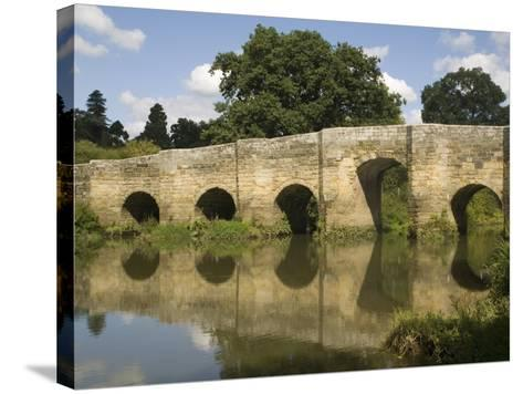 Stopham Bridge over River Arun, Near Pulborough, Sussex, England, United Kingdom, Europe-Richardson Rolf-Stretched Canvas Print