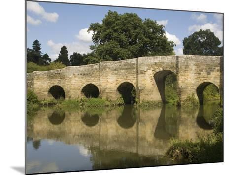 Stopham Bridge over River Arun, Near Pulborough, Sussex, England, United Kingdom, Europe-Richardson Rolf-Mounted Photographic Print