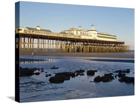 Pier, Hastings, Sussex, England, United Kingdom, Europe-Scholey Peter-Stretched Canvas Print
