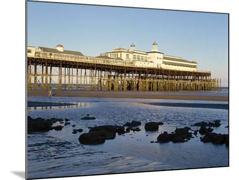Pier, Hastings, Sussex, England, United Kingdom, Europe-Scholey Peter-Mounted Photographic Print