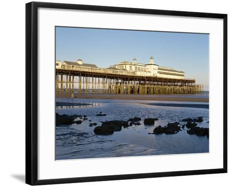 Pier, Hastings, Sussex, England, United Kingdom, Europe-Scholey Peter-Framed Art Print