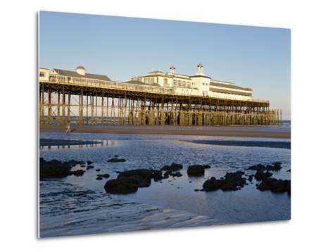 Pier, Hastings, Sussex, England, United Kingdom, Europe-Scholey Peter-Metal Print