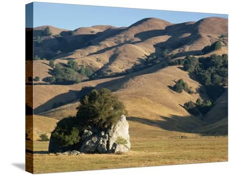 Coastal Hills of Marin County at Dusk, California, United States of America, North America-Rawlings Walter-Stretched Canvas Print