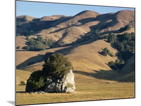 Coastal Hills of Marin County at Dusk, California, United States of America, North America-Rawlings Walter-Mounted Photographic Print