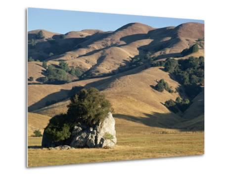 Coastal Hills of Marin County at Dusk, California, United States of America, North America-Rawlings Walter-Metal Print