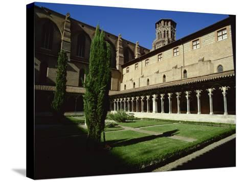 Cloister of Le Couvent Des Augustins, 14th C, Augustins Museum, Toulouse, Midi-Pyrenees, France-Rawlings Walter-Stretched Canvas Print